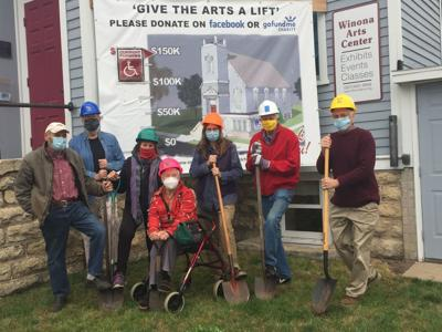 Winona Arts Center breaks ground on new accessible entrance
