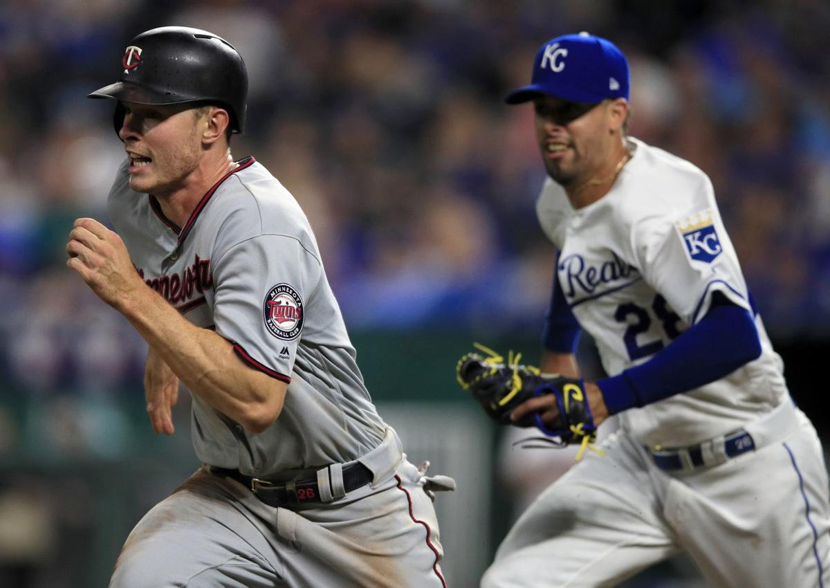 Twins Royals Baseball