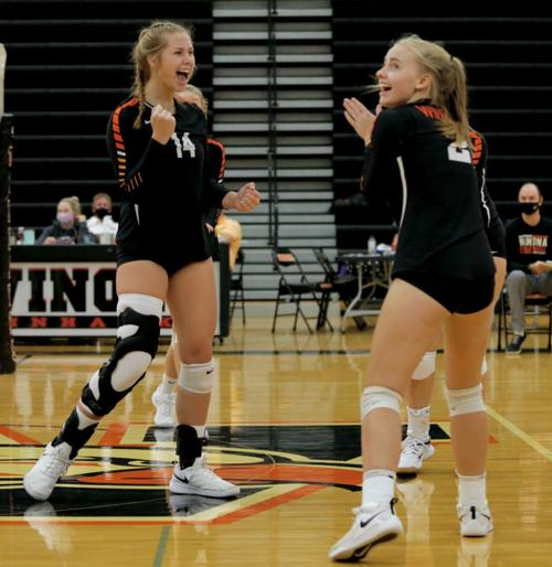 Photos: Winhawk volleyball vs Northfield