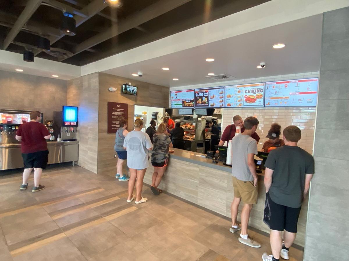 Inside Burger King
