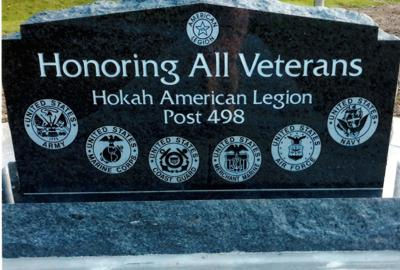 Dedication set for new new veterans memorial in Hokah