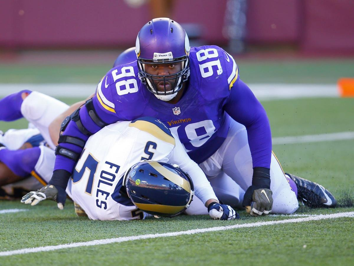 Joseph the man in the middle of Vikings improving defense