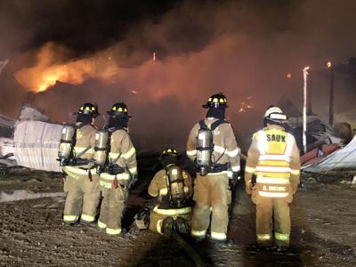 Fire in Honey Creek