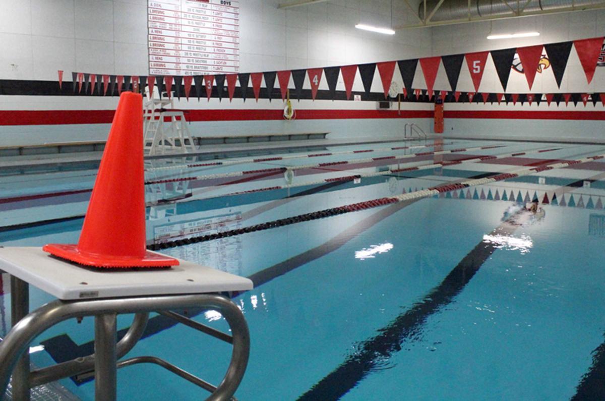 Sauk Prairie High School pool