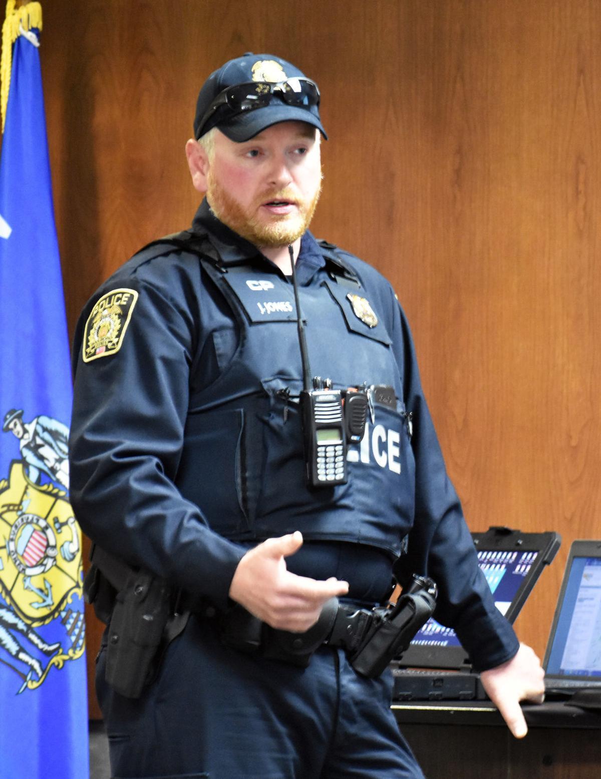 Jacob Jones from CP rail police