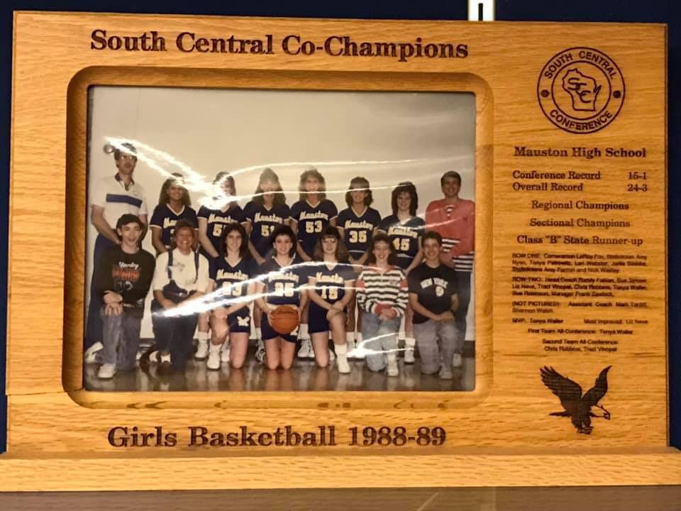 1988-89 Mauston girls basketball team