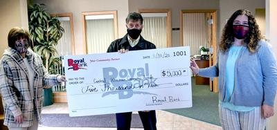 Bank provides $5K locally in COVID-19 relief funds