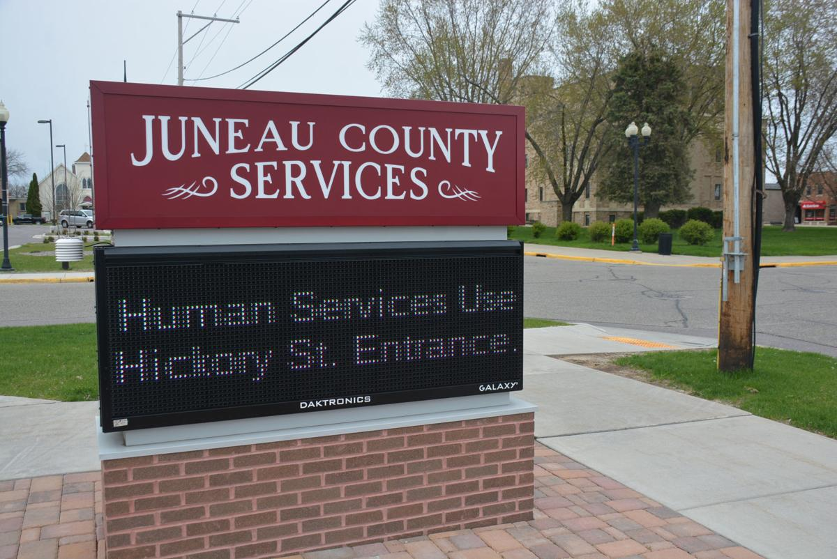 JC human services sign