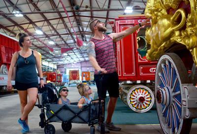 Circus World wagon pavilion