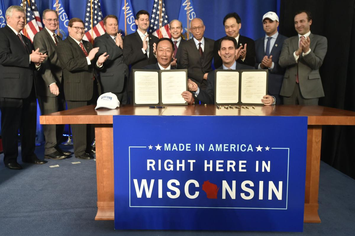 Fiscal bureau: Foxconn road projects could draw $134 million from other state highways