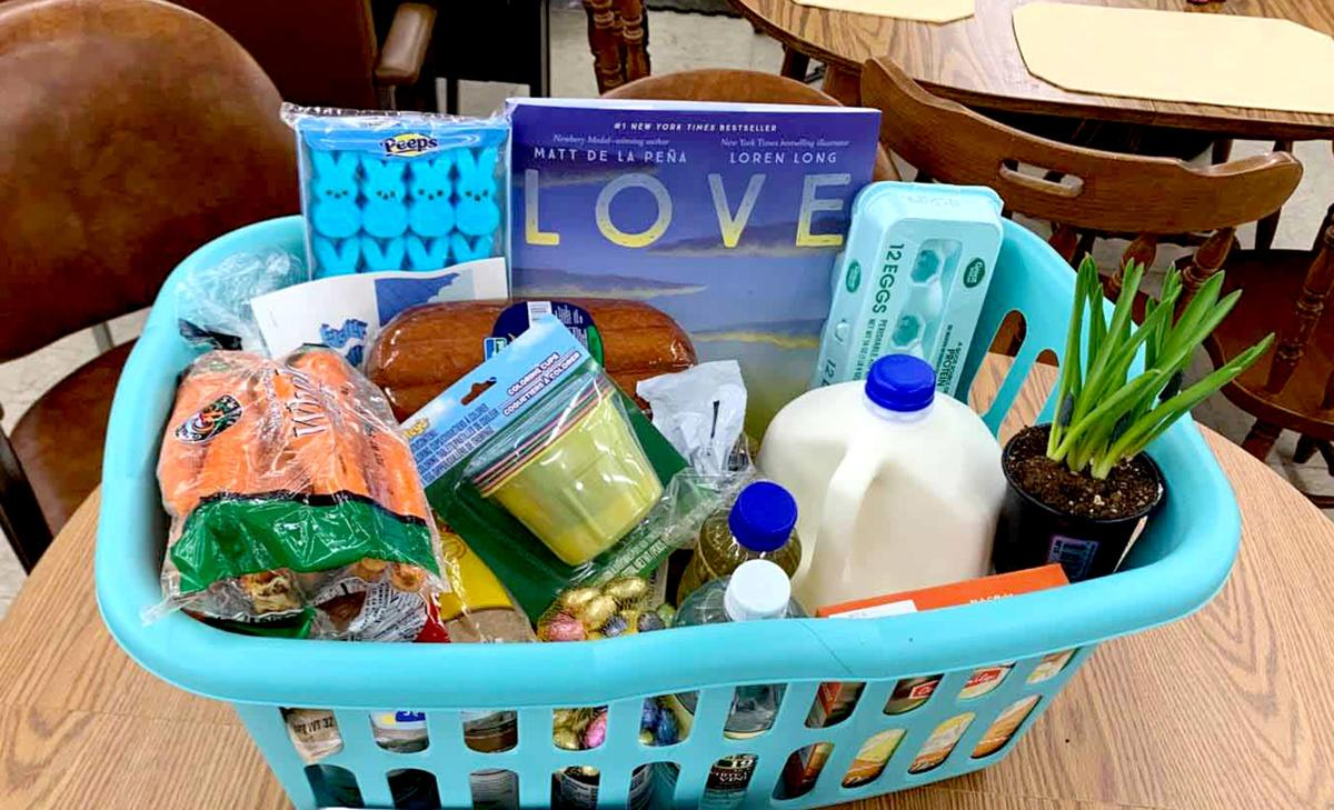 Beaver Dam families receive baskets filled with Easter dinner