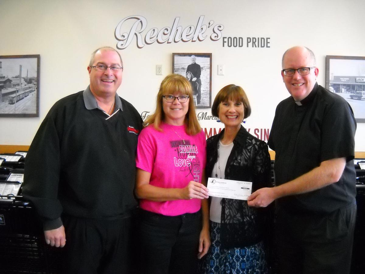 $10K donated to school