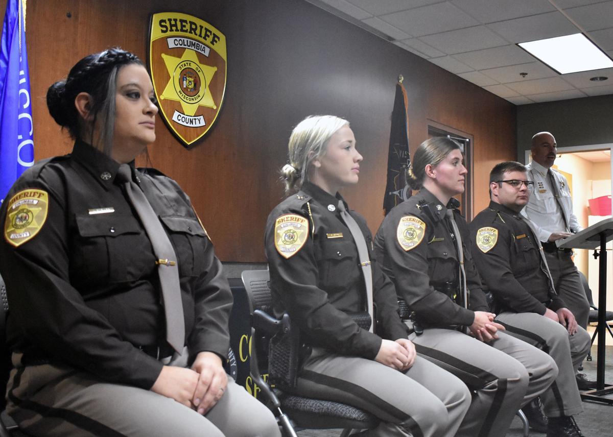 Deputies and jailer sworn in