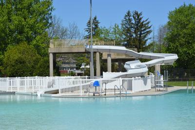 Columbus Pool Slide