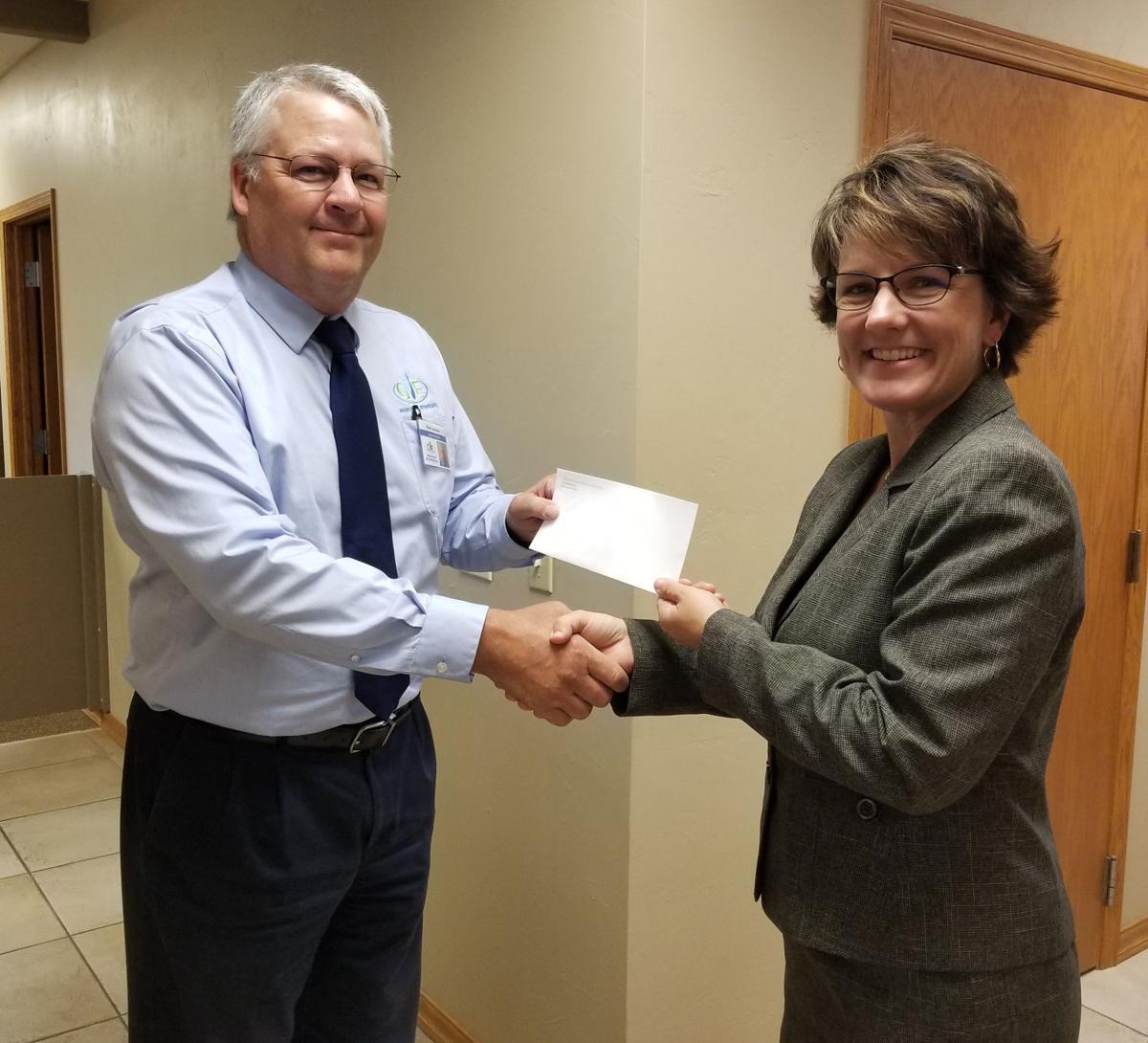 GVE receives $2,500 award