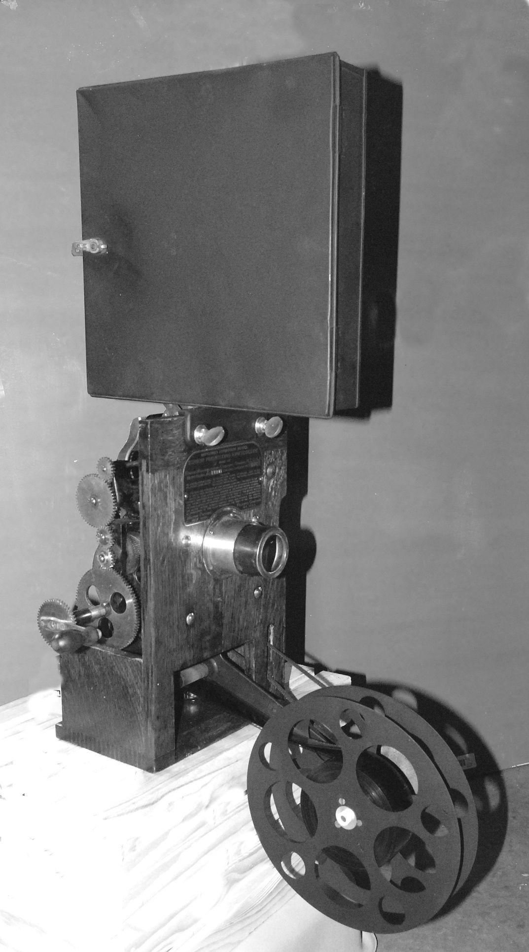 Historic Edison movie projector restored | Celebrations
