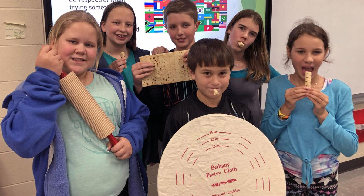 Students connect food with local traditions