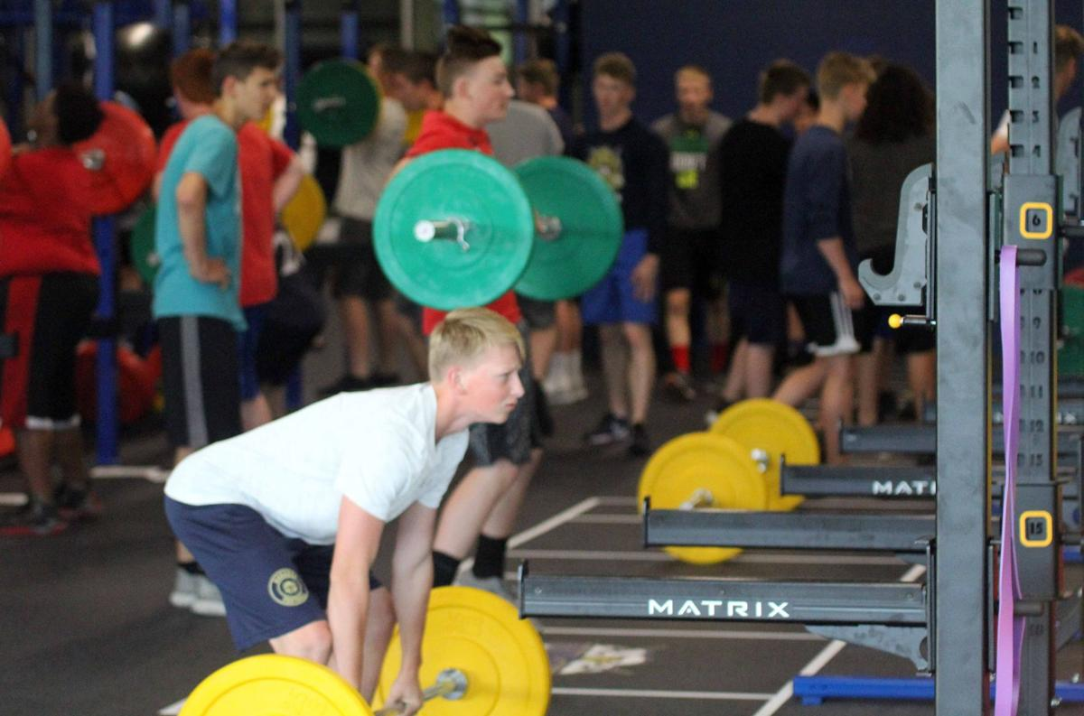 Baraboo weight room