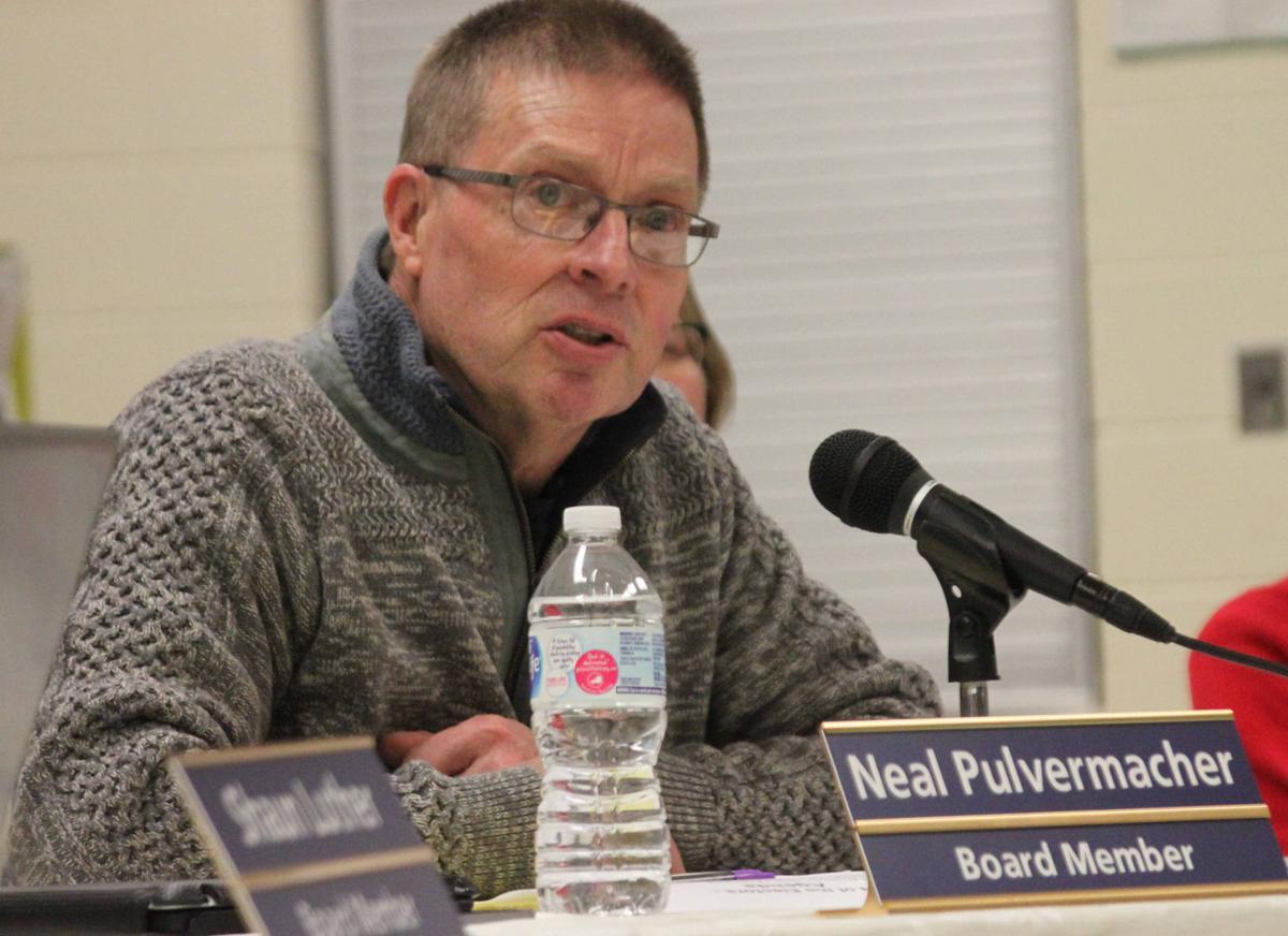 Neal speaks at meeting