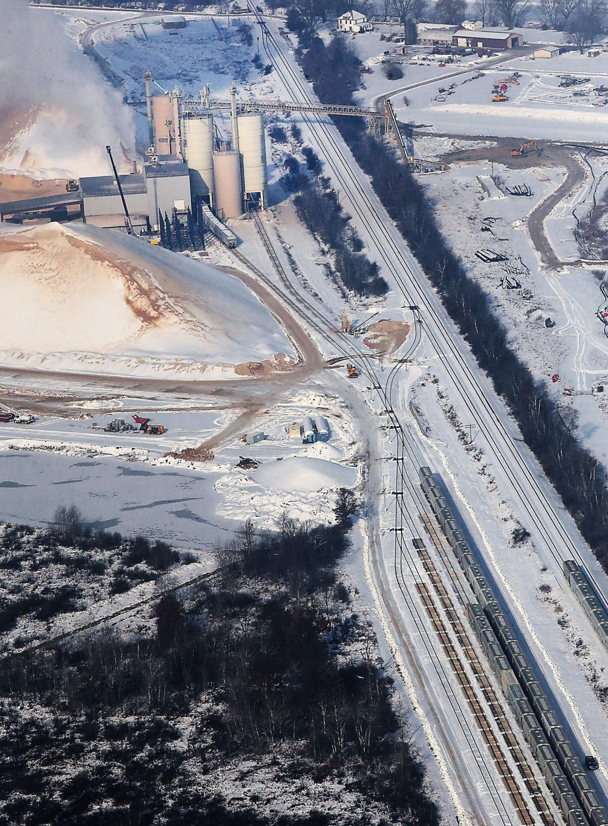 Frac sand producers spent millions on now underused rail yards