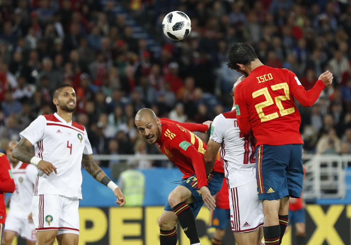 World Cup Portugal Spain Punch Tickets To Round Of 16 Barely