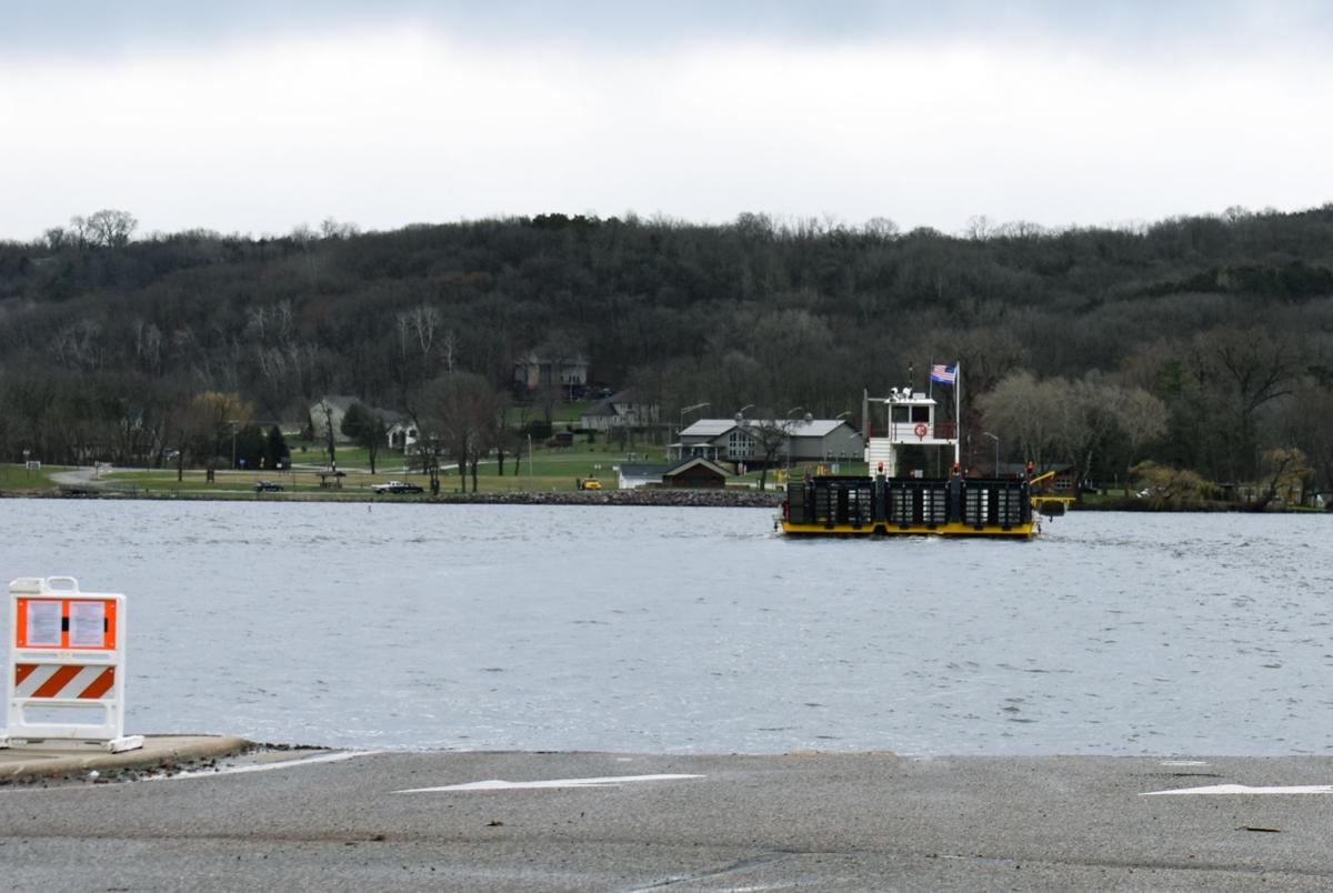 Merrimac Ferry, April 20, 2020