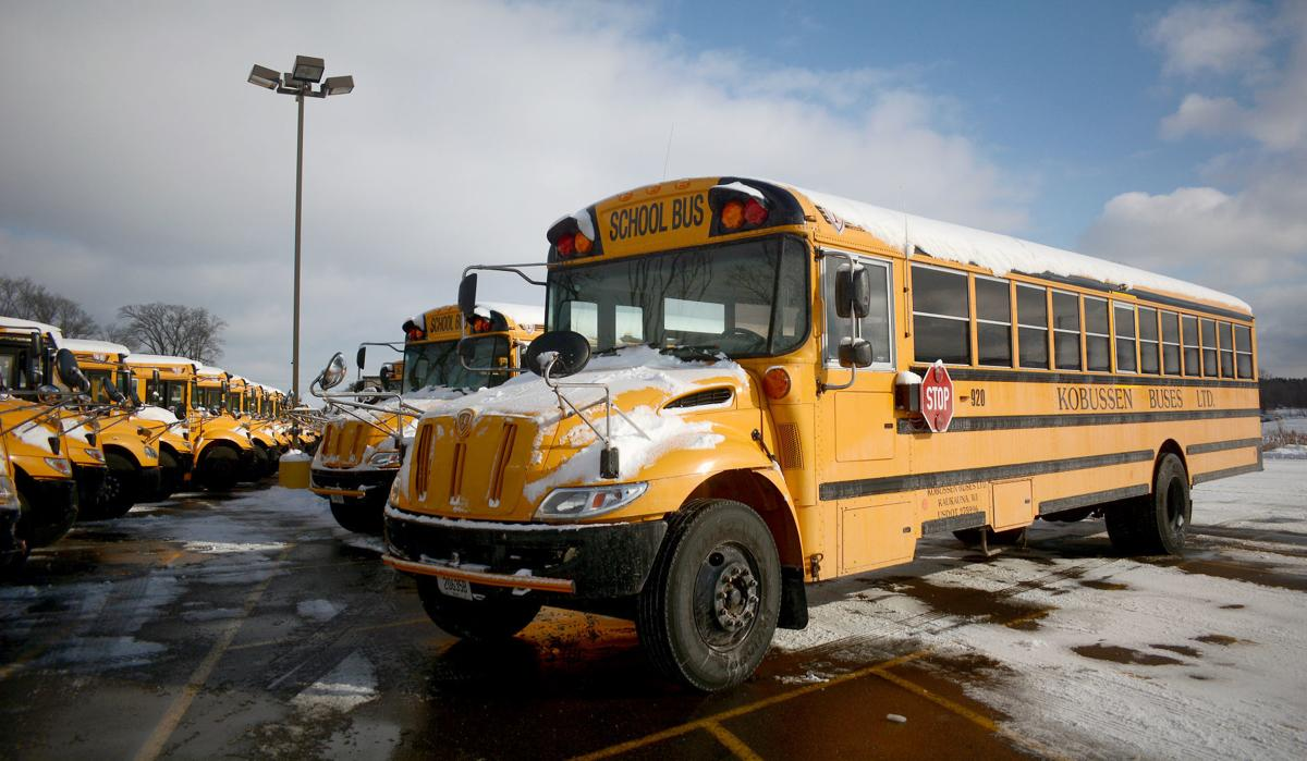Baraboo school buses