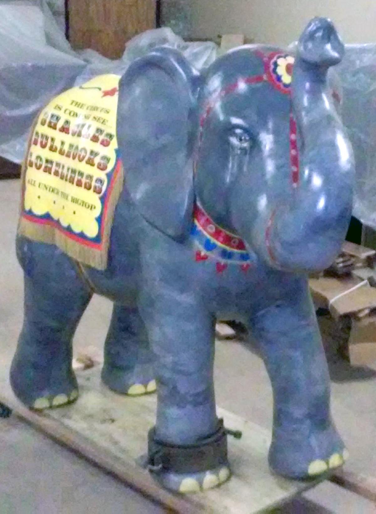 PETA elephant sculpture