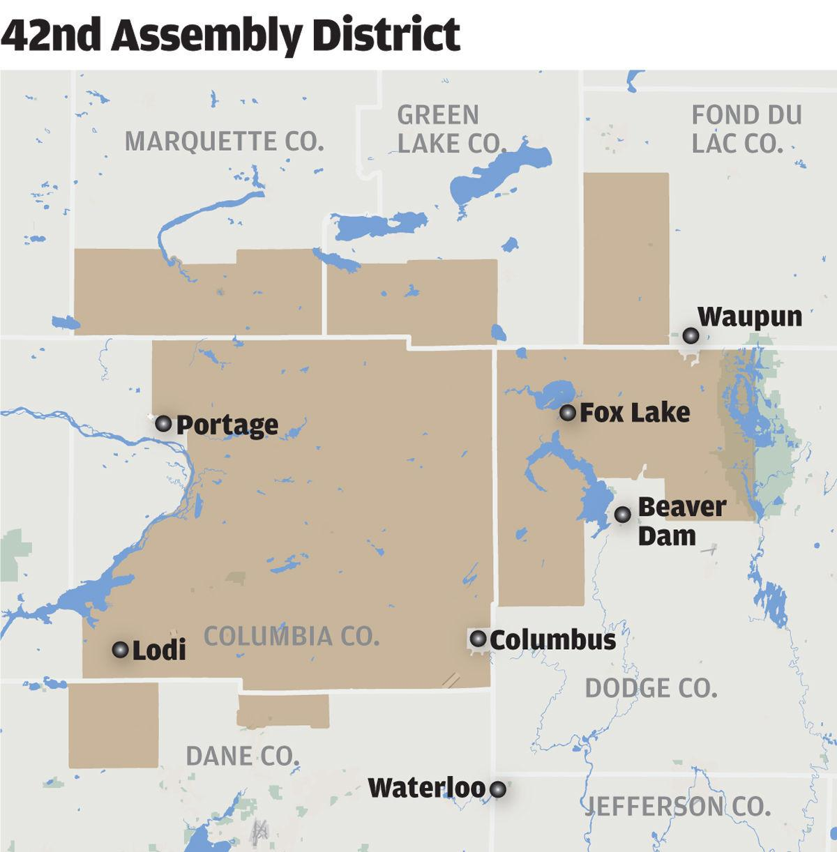 Wisconsin 42nd Assembly District June 2018 (copy)