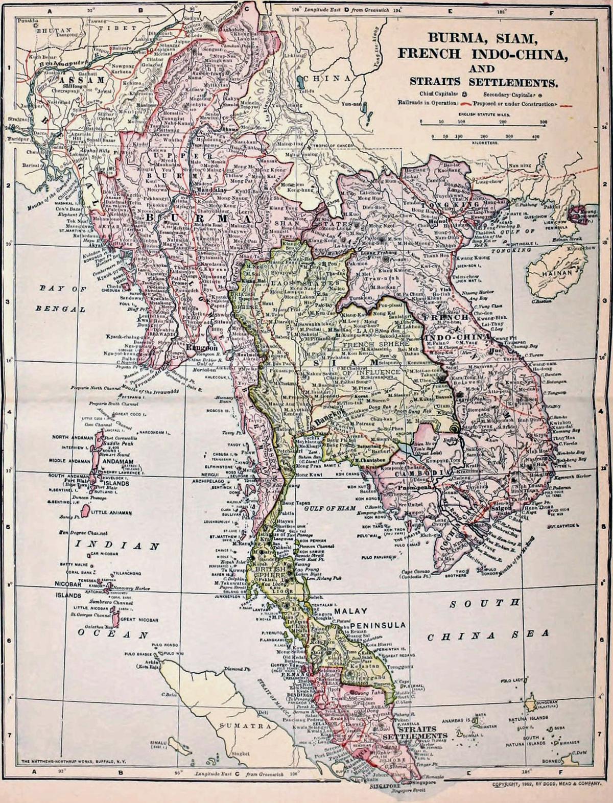 Burma and Siam