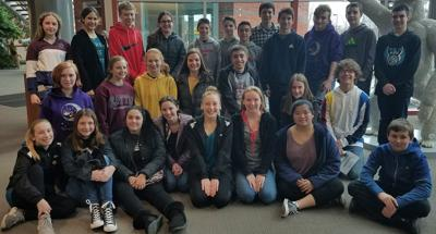 Students learn about dna on field trip