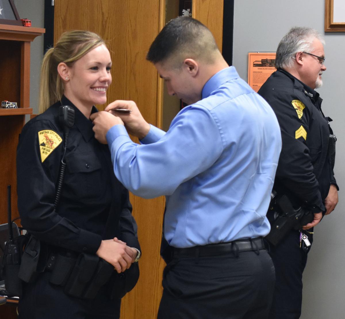 Heather Medina sworn in