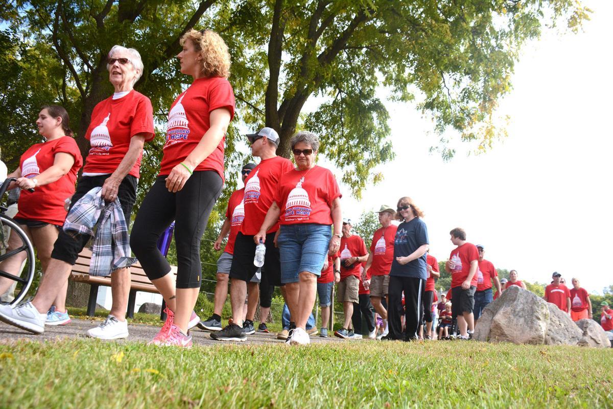 Sauk County Alzheimer's Walk raises funds, awareness