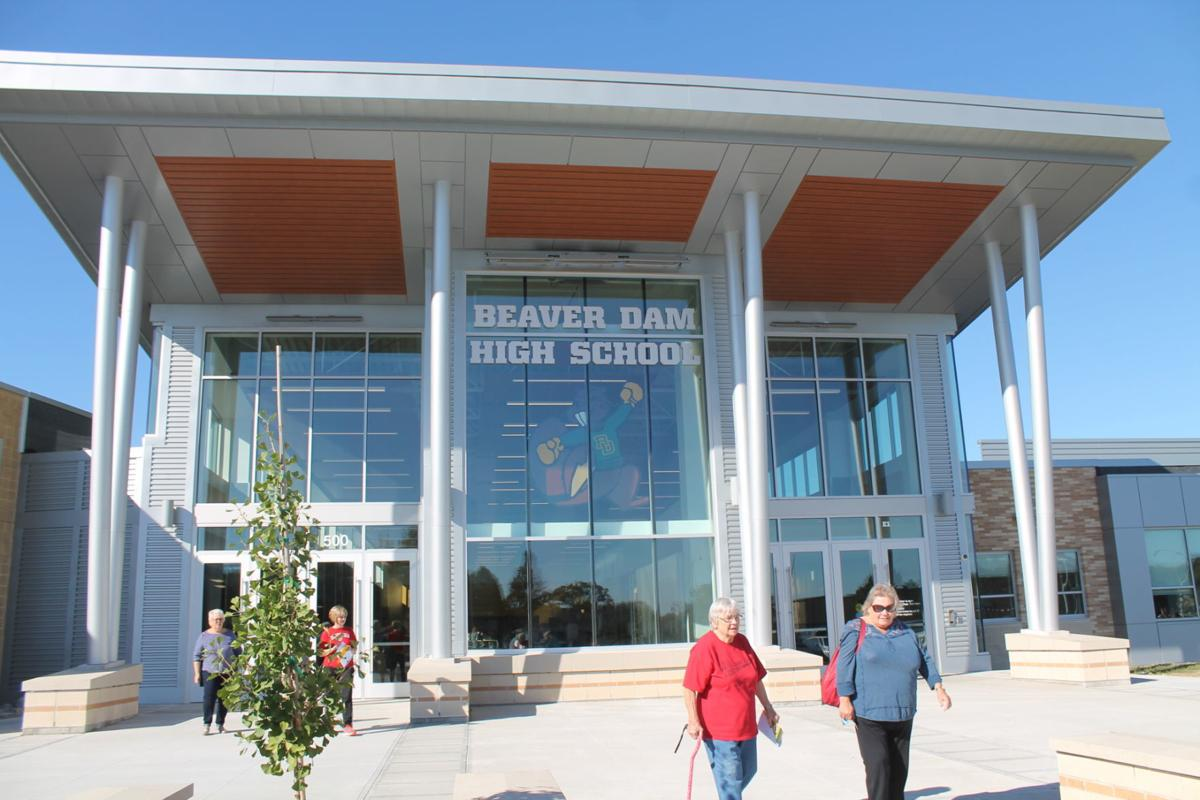Beaver Dam High School entrance (copy)