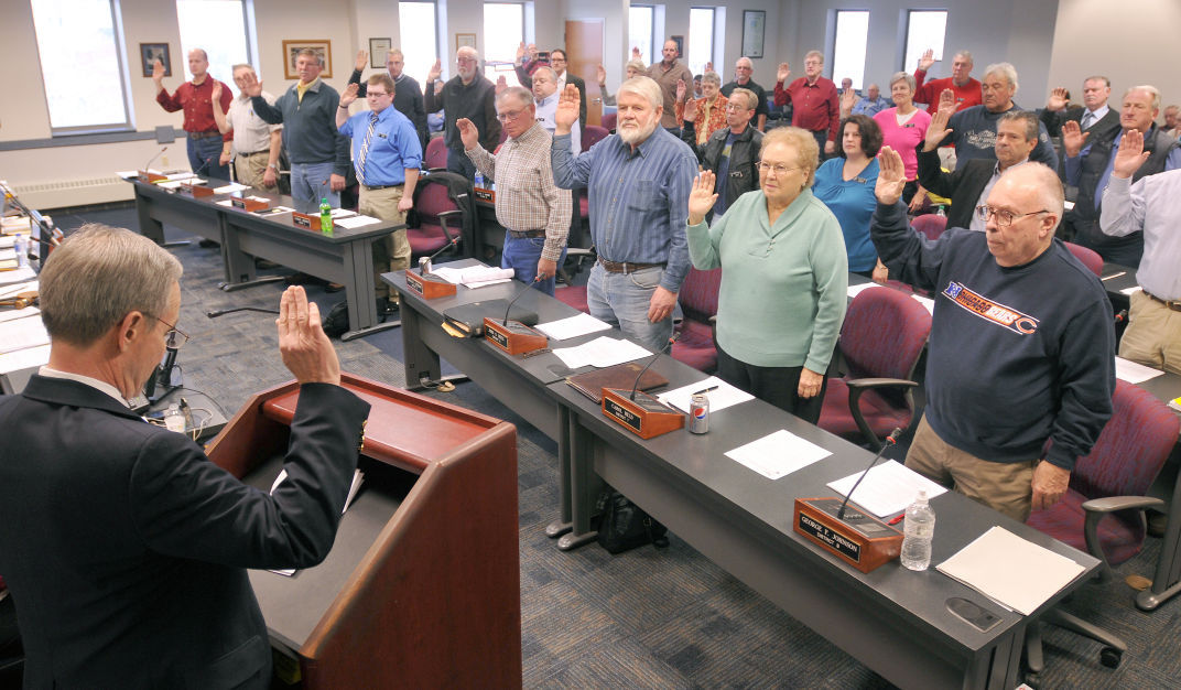 Few competitive races for Sauk County Board