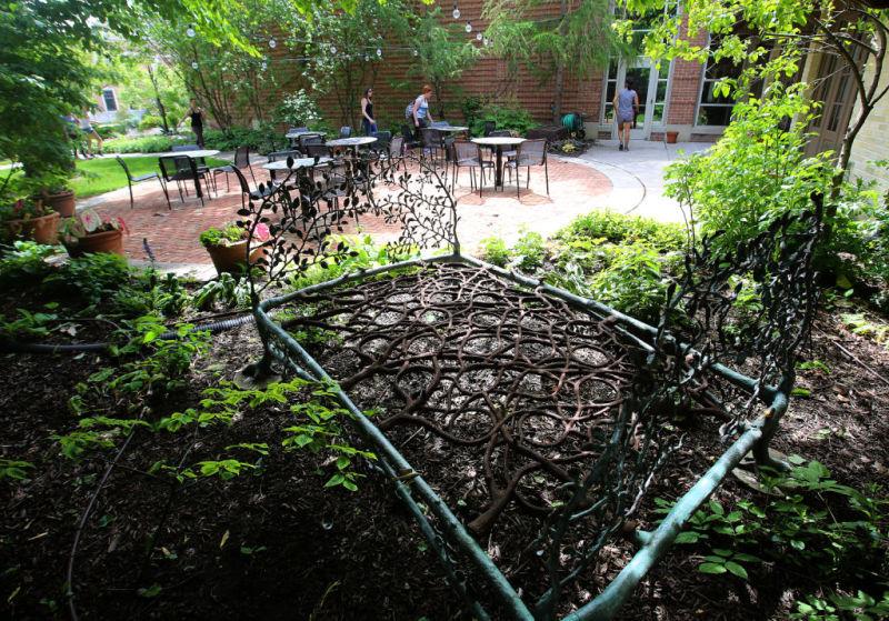 Garden grounds at Kohler Arts Center