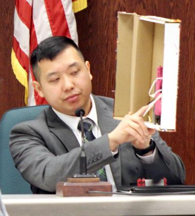 State expert witnesses testify about murder weapon