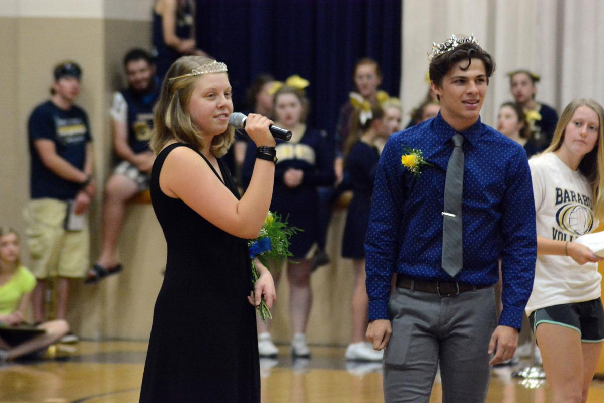 Baraboo High School names homecoming king and queen