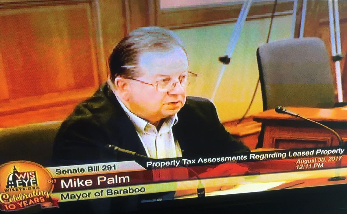 Baraboo Mayor Mike Palm
