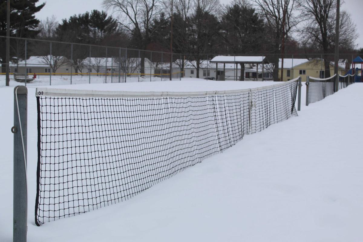 Oak Park tennis courts 2