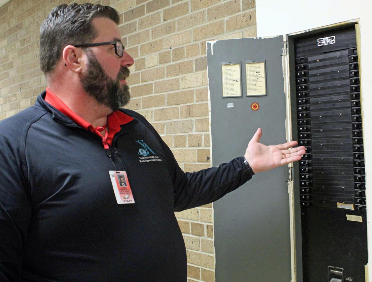 Chris show electrical box