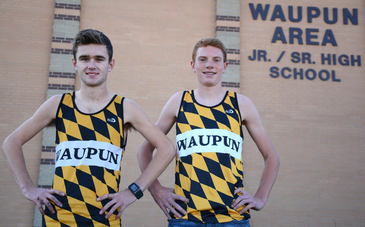 Waupun XC Runners Bailey Bille, Rhyer Smit