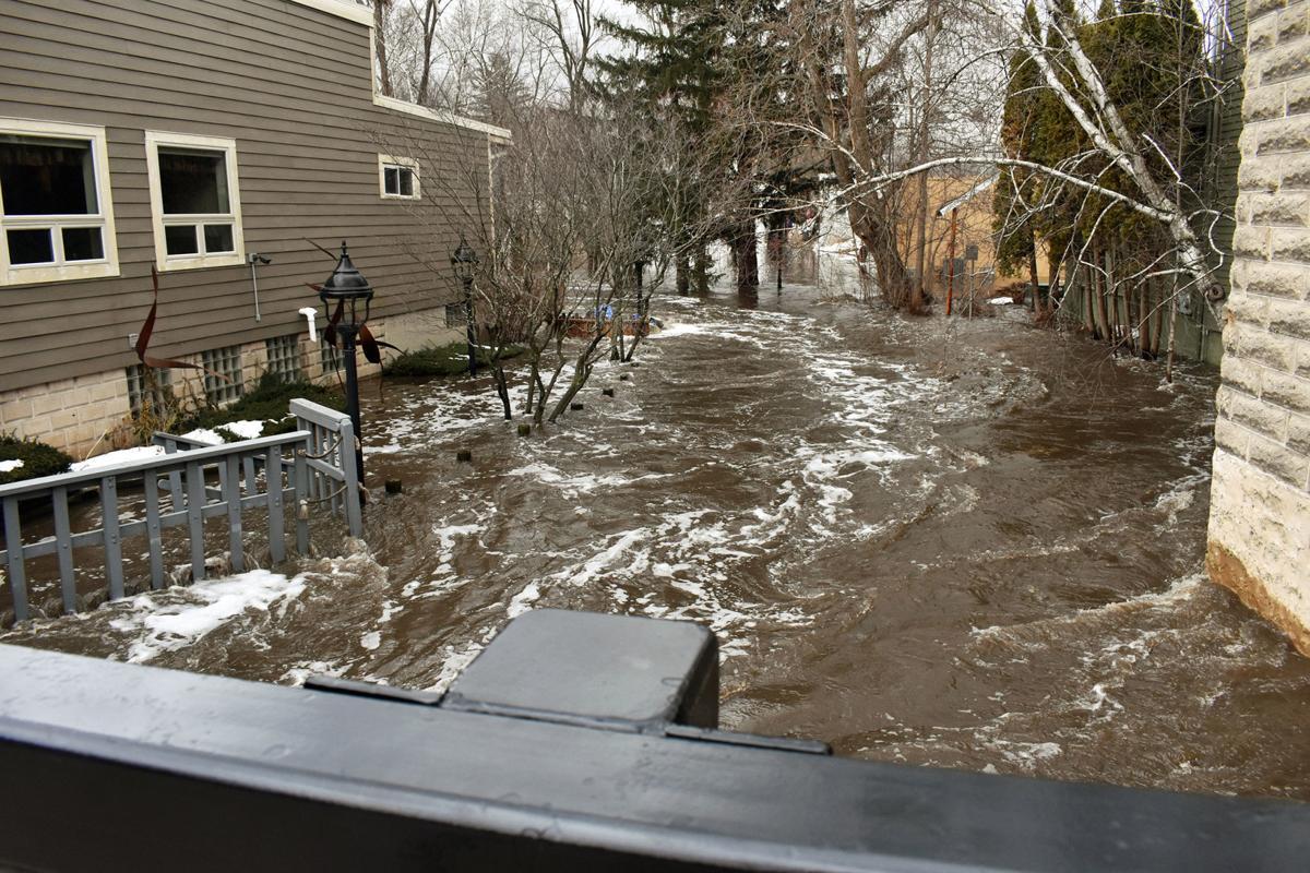 Lodi flooding Spring Creek