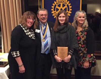 Wagner named Rotarian of the Year