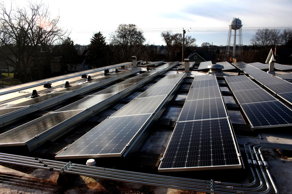 Beaver Dam City Hall solar panels (copy)