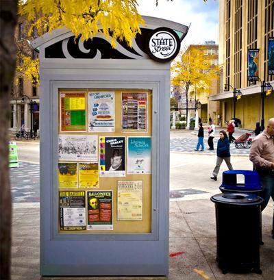 State Street kiosk