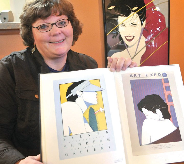 NEW ART EXHIBIT: Patrick Nagel's paintings of women captured an ...