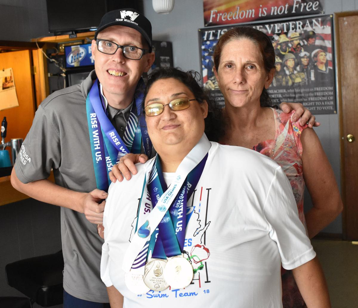 Special Olympics Medal Winners