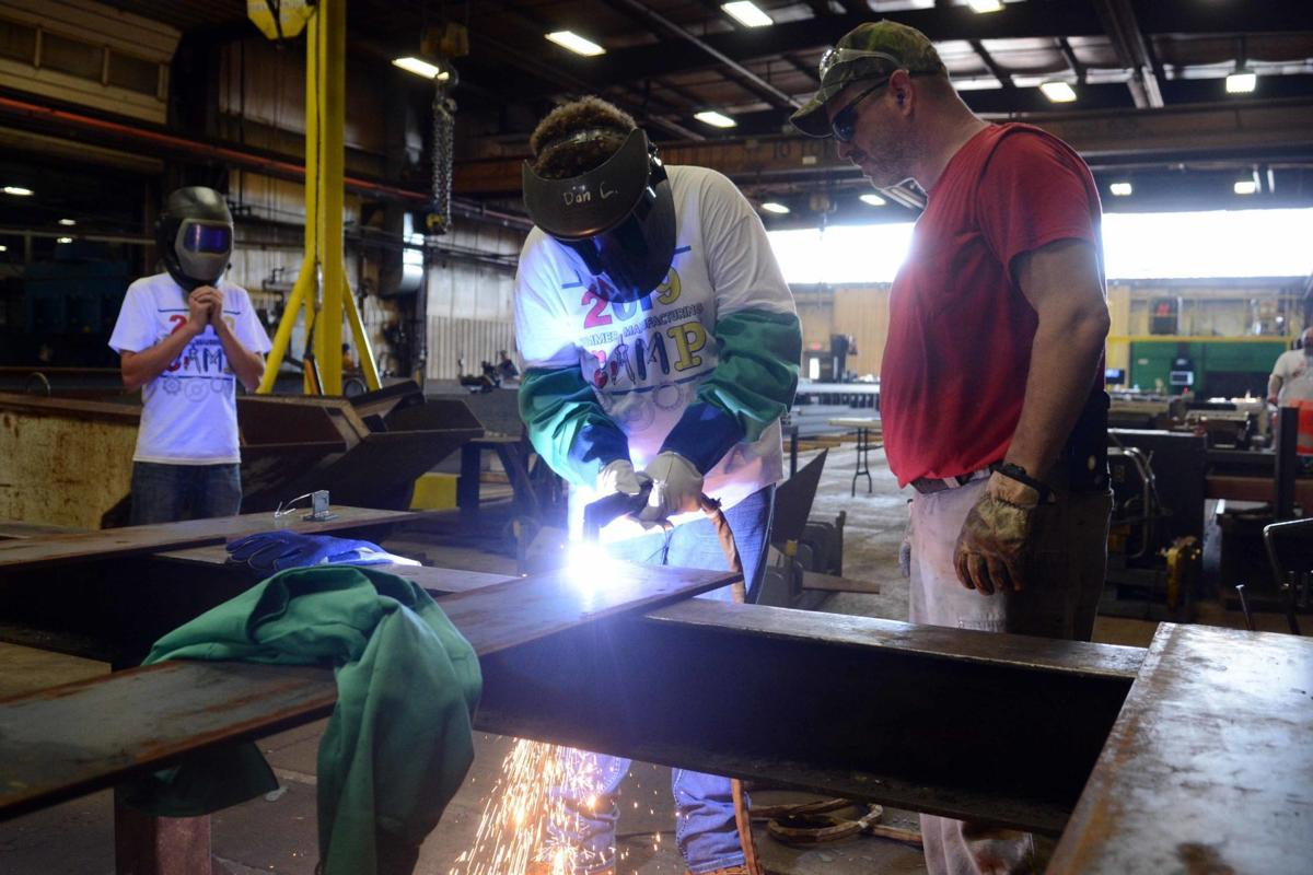 'Fun with Torches' welding camp tours McFarlane Manufacturing