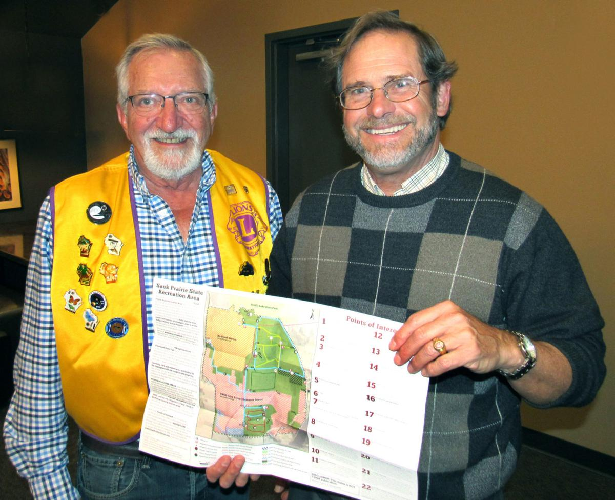 Lions Club meets with Charlie Luthin